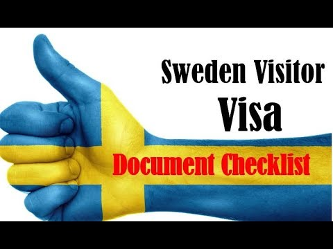 Sweden Tourist Visa document Checklist | Europe Visa