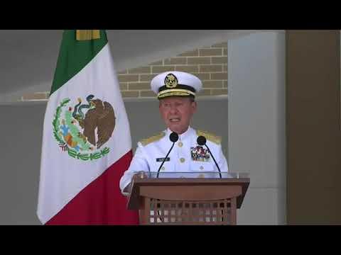 El pueblo de México puede confiar en las nuevas generaciones de marinos que forjan justicia