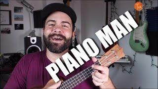 Piano Man - Billy Joel - Ukulele Tutorial with play-along