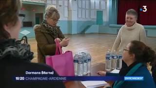 Deux villes de la Marne privées d'eau potable à cause des inondations