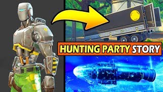 Wer ist der HUNTING PARTY SKIN! (A.M.I SKIN) *EXPLAINED* FORTNITE SEASON 6 STORYLINE!