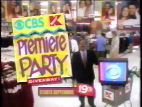 CBS  - Kmart -  Premiere Party Giveaway -  Mark McEwen  - Commercial (1993)