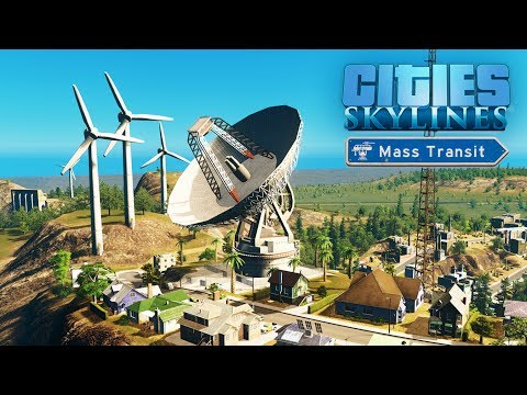 Cities Skylines Mass Transit - Возвращение в город! - Запись стрима #18