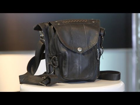 13d1d4fe3 Speed and Strength Speed Society Leather Hip Bag | Motorcycle Superstore -  YouTube