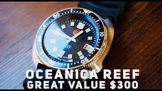 Oceanica REEF 500M Dive Watch Review - THE BEST Vintage Dive Watch under $300?