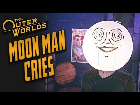 The Outer Worlds - Making the Moon Man Cry // All Scenes + Choices |