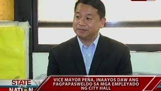 VM Peña, gusto raw makausap si Mayor Binay kaugnay sa pagpapasweldo sa mga empleyado