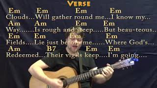 Wayfaring Stranger (Traditional) Strum Guitar Cover Lesson in Em with Chords/Lyrics