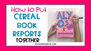 Cereal box book reports fourth grade is civil disobedience justifiable essay