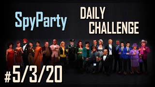 Let's Play the SpyParty Daily Challenge: Vox Pop