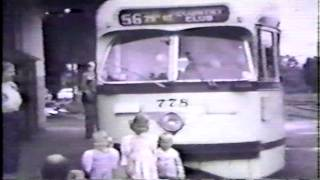 Part 6/7 Kansas City streetcars last day of operation