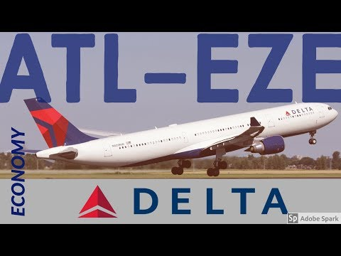 FlyWithMe! | FLIGHT REPORT | Atlanta to Buenos Aires | Delta ECONOMY A330-300