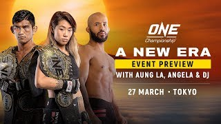 ONE Championship: Tokyo Event Preview With Aung La N Sang, Angela Lee & Demetrious Johnson
