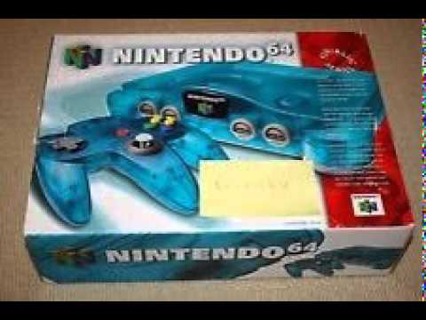 For Sale】Nintendo 64 N64 Ice Blue Console - NEW SEALED