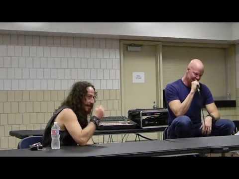 Crypticon 2018 St Joseph MO Fri 71318 Ari Lehman & Derek Mears Jason Voorhees panel