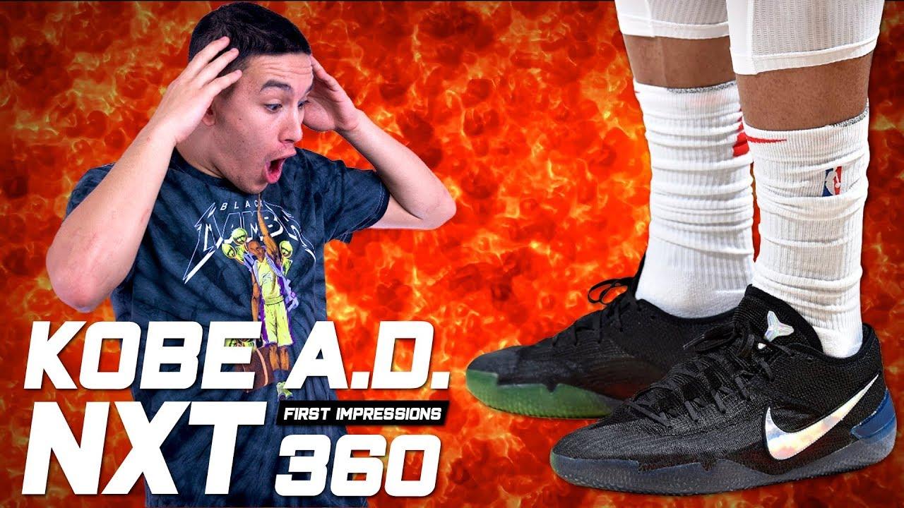 2b1f6a1e18df Nike Kobe A.D. NXT 360 - First Impressions
