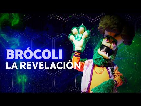 ¡Brócoli, el primero en revelar su identidad! | #QuiénEsLaMáscara 2021