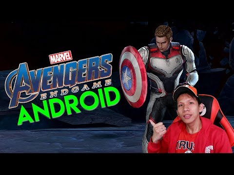SUERRR KEREN, Game Avengers End Game Di Android !