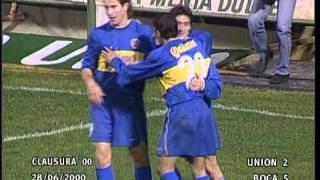Goles de Guillermo Barros Schelotto en Boca - El Gráfico