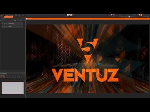 Ventuz 5 Overview Webinar 10/12/2016