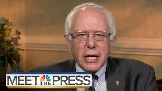 Sanders: I Disagree With Clinton On