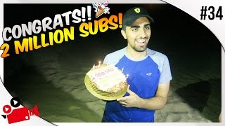 SURPRISING MO VLOGS IN THE DESERT!!   CONGRATS ON 2 MILLION SUBS!