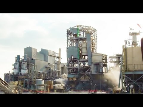 Chemical Plant Mixed Feed Building - Controlled Demolition, Inc.