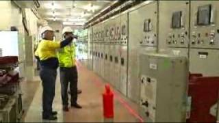 Improved switchboard installed at substation