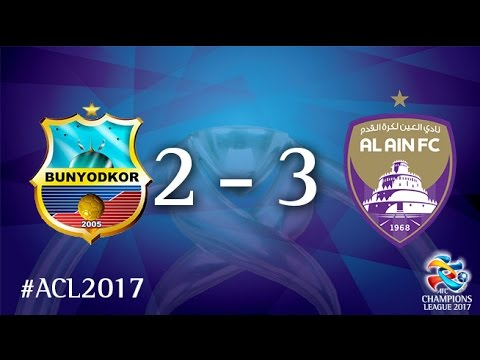 FC Bunyodkor vs Al Ain FC (AFC Champions League 2017 : Group Stage - MD 2)
