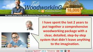 Furniture Plans Woodworking - Free Woodworking Pattern