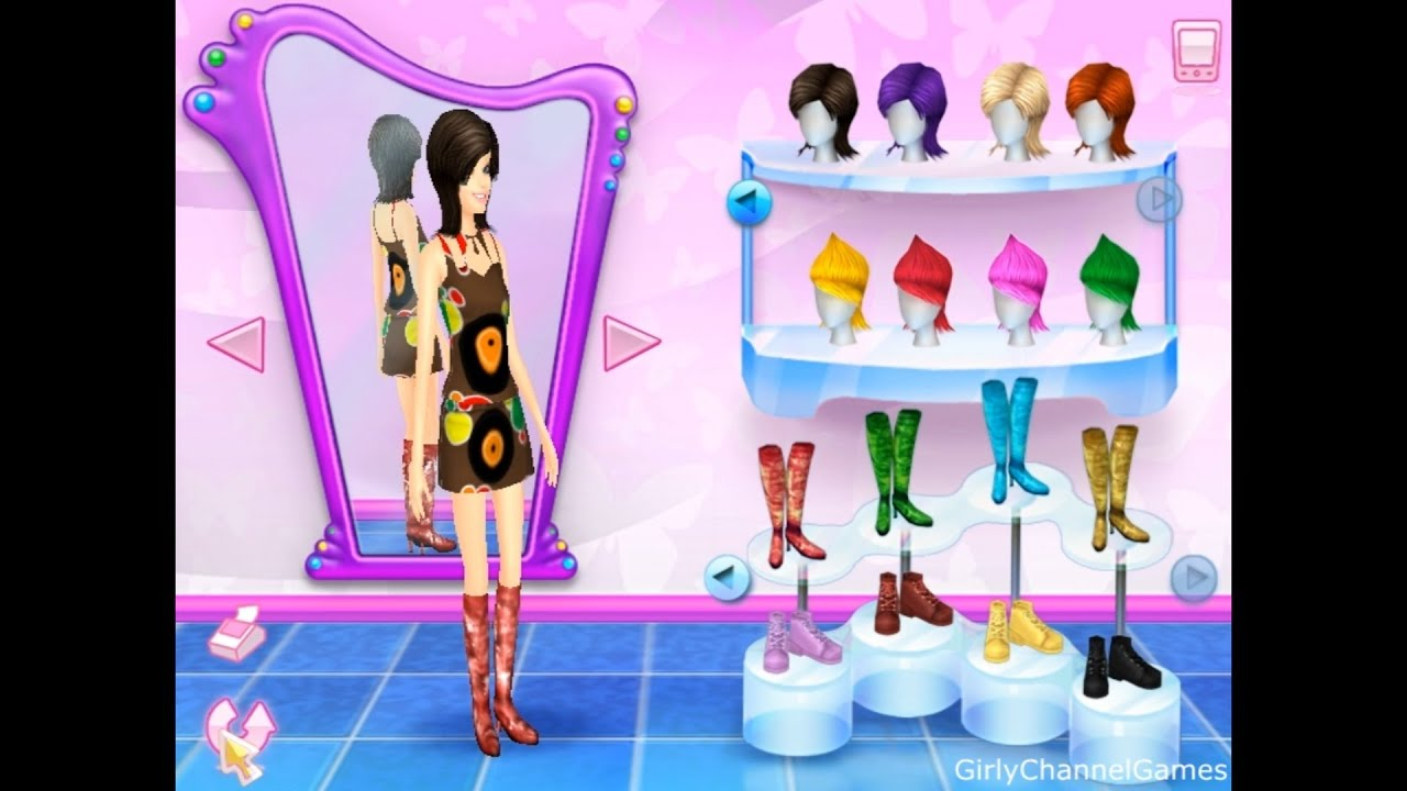 Barbie fashion show an eye for style game pc episode 8 by girly channel games youtube Fashion style games online
