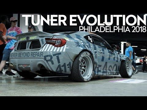 Tuner Evolution: Philadelphia 2018 | HALCYON (4K)