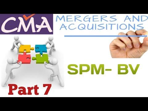 Merger and Acquisition/ CASH Deal / Business Valuation / CMA Final / CA Final SFM/ Part 7