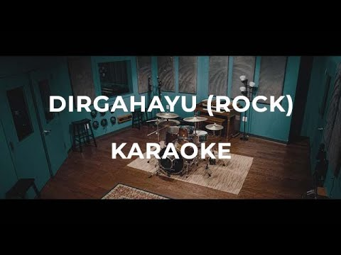 Faizal Tahir & Dato' Siti Norhaliza - Dirgahayu (Rock Instrumental Karaoke) with Lyrics on Screen