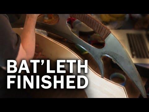 Bat Leth Finished Hardened Etched And Handled