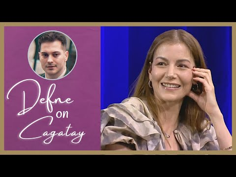 Defne Kayalar on Cagatay Ulusoy ❖ Interview ❖ Closed Captions 2020