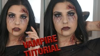 Vampire Halloween Tutorial