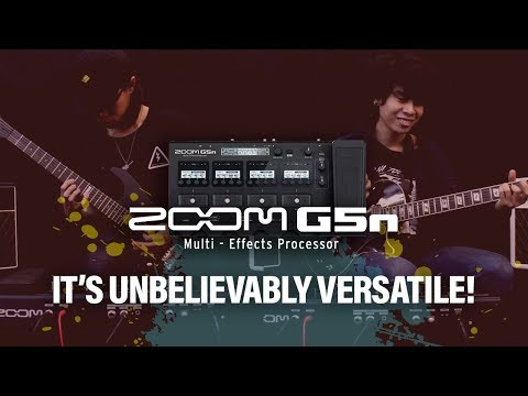 Zoom G5n - It's Unbelievably Versatile!