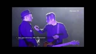 Вадим Самойлов кричит на пьяного глеба