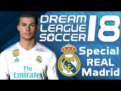 Cara instal Dream league Soccer 18 mod Real Madrid   Unlimited money   Tutorial Game Indonesia