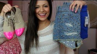 Clothing & Beauty Haul! January 2013