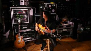 Slash Play Tests The New Ernie Ball Cobalt Electric Guitar Strings