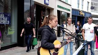 Allie Sherlock Cover of Remind me to Forget Grafton Street