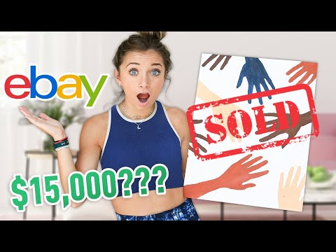 $15,000 for My Bad Art on eBay??   Twin VS Twin Challenge
