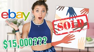 15 000 For My Bad Art On Ebay Twin Vs Twin Challenge Withme Youtube