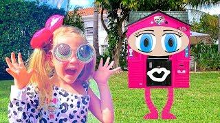 منزل Stacy و LOL للأطفال مع المفاجآت