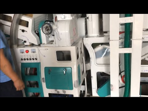 Combined Rice Mill Mini Rice Mill For Small Business- TRM-01TPH (MR12S)