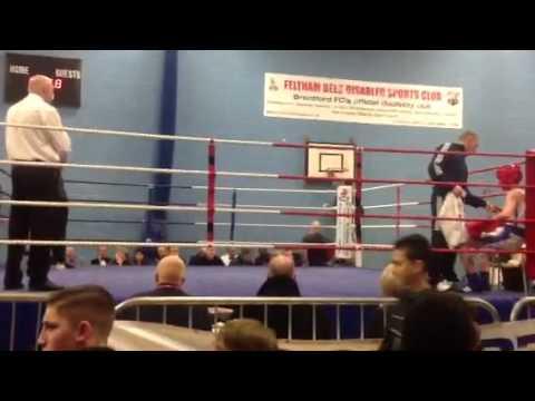 Martin Delaney boxing school boy London finals 2013