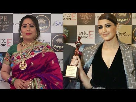 Sonali Bendre & Geeta Kapoor At Herald Global Host Women Achievers Awards 2018