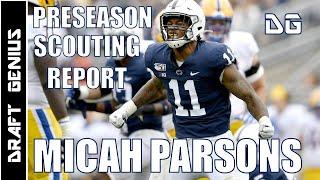 Micah Parsons: Penn State LB: Preseason 2021 NFL Draft Scouting Report